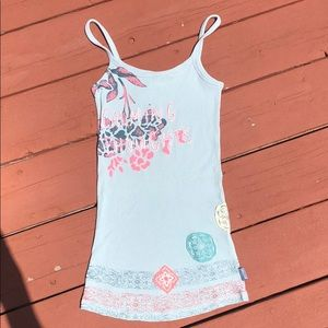 NWOT PRANA CALMING THOUGHTS GRAPHIC TANK, SIZE SM